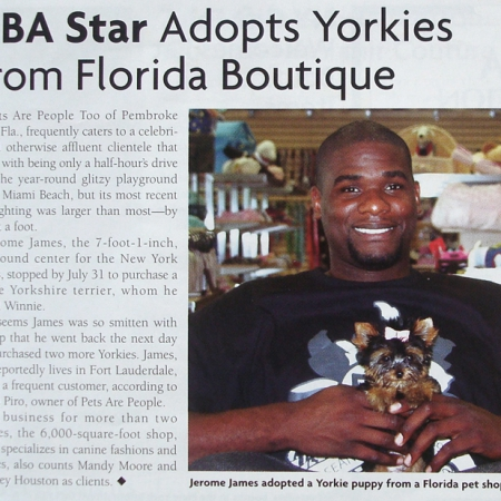 Jerome James at Teacups Puppies & Boutique