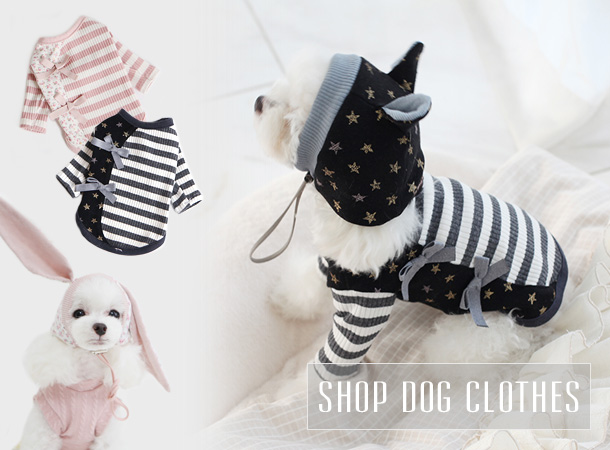 Shop tiny teacup dog clothes and designer dog clothing for small dogs