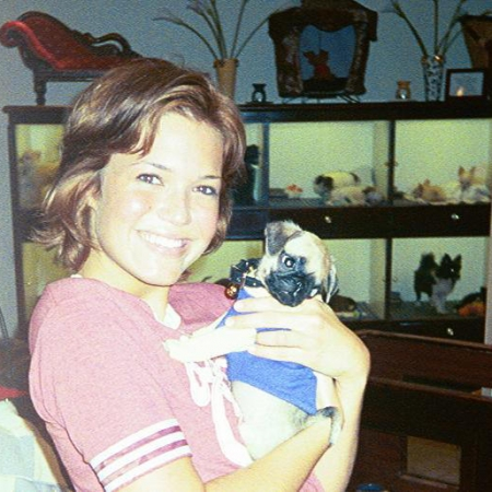 Mandy Moore at Teacups Puppies & Boutique
